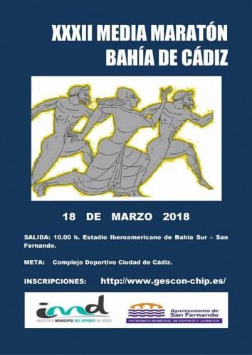 XXXII Media Maratón Bahía de Cádiz