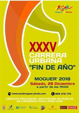 XXXV Carrera Urbana Fin de Año Moguer