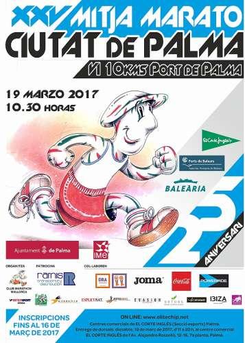 XXV Mitja Marato Ciutat de Palma 2017