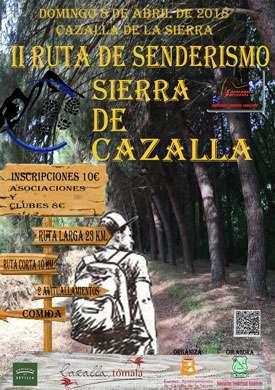II Ruta Senderismo Sierra de Cazalla