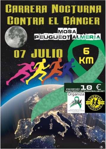 IV Carrera Nocturna Contra el Cáncer Ciudad de Almería