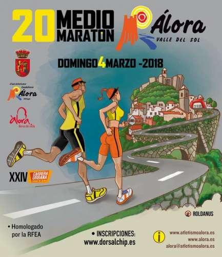 XX Medio Maratón Álora Valle del Sol