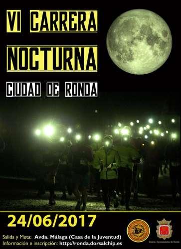 VI Carrera Nocturna Urbana Ciudad de Ronda