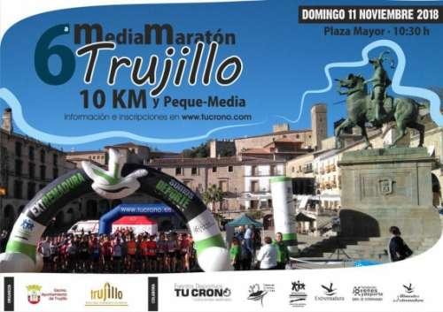 VI Media Maratón Juan Mateos Broncano Ciudad de Trujillo