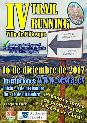 IV Trail Running el Bosque