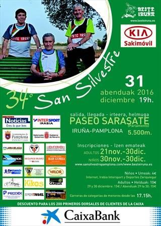 XXXIV San Silvestre de Pamplona