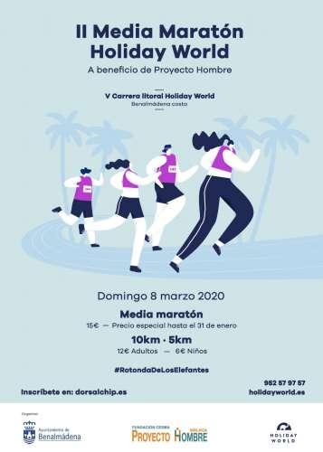 II Media Maratón Holiday World y V Carrera Lítoral Holiday World