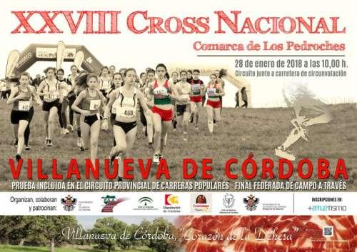 XXVIII Cross Nacional Comarca de los Pedroches