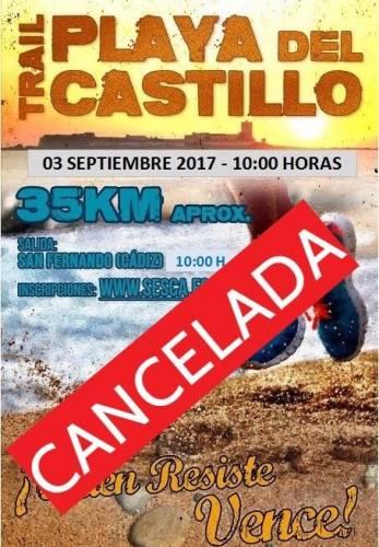 Carrera Trail Playa del Castillo CANCELADA