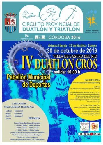 Carrera IV Duatlón Cros Villa De Castro Del Río