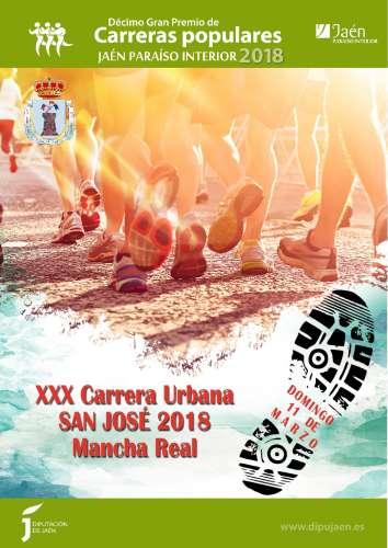 XXX Carrera Urbana San Jose 2018 Mancha Real