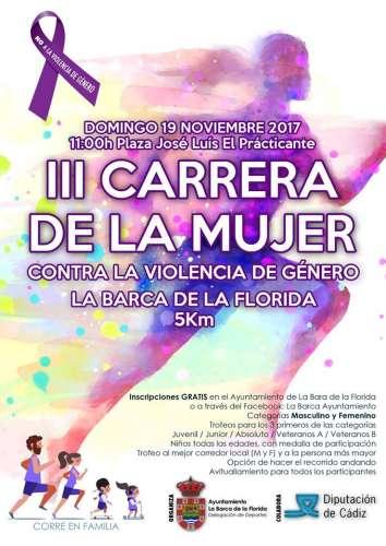 III Carrera de la Mujer Contra la Violencia de Género