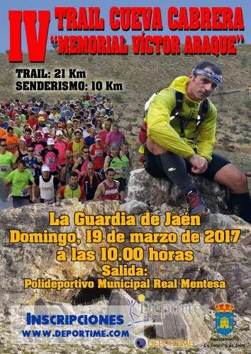 IV Trail Cueva Cabrera Memorail Victor Araque