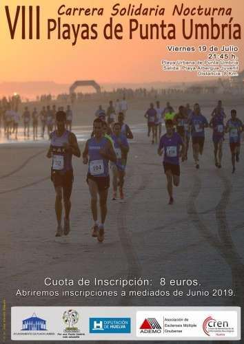 VIII Carrera Solidaria Nocturna Playas de Punta Umbría
