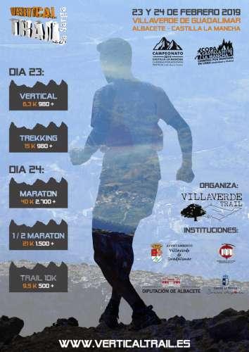 Vertical Trail La Sarga Terkking
