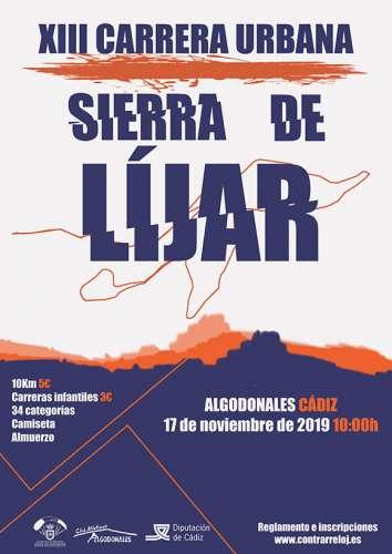 XIII Carrera Urbana Sierra de Líjar