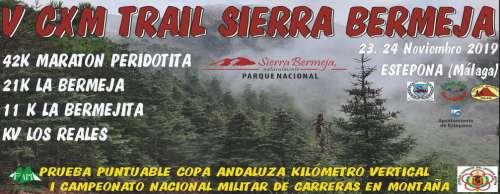 V CxM Trail Sierra Bermeja