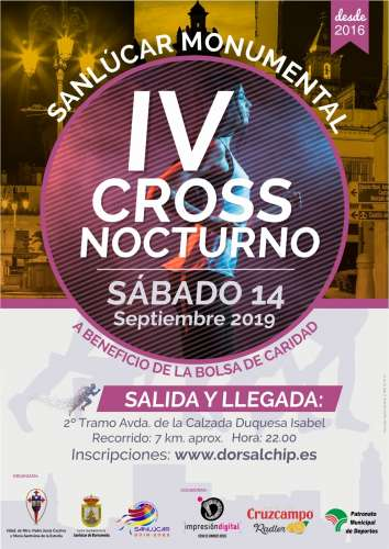 IV Cross Nocturno Sanlúcar Monumental