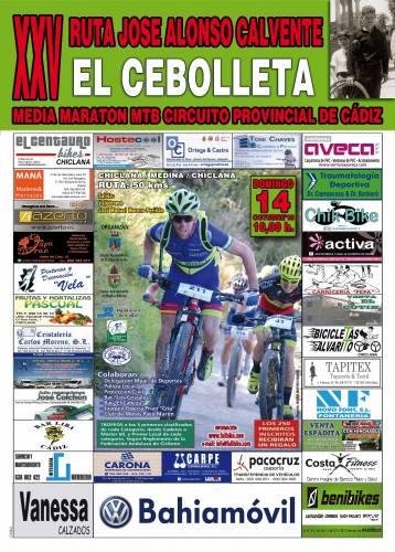 Bici MTB XXV Ruta Jose Alonso Calvente Cebolleta