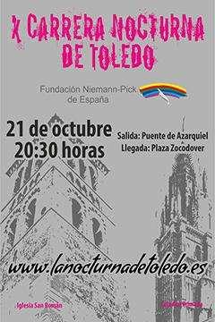 X Carrera Nocturna de Toledo