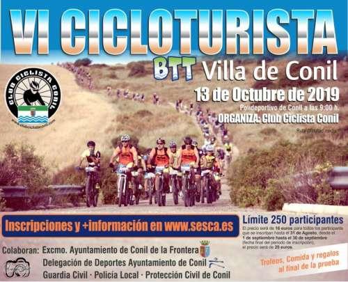 VI Cicloturista BTT Villa de Conil