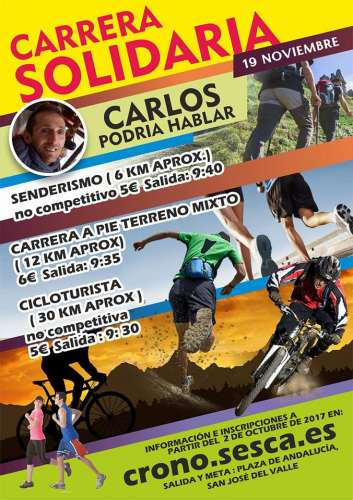 Carrera Solidaria CARLOS Podría Hablar