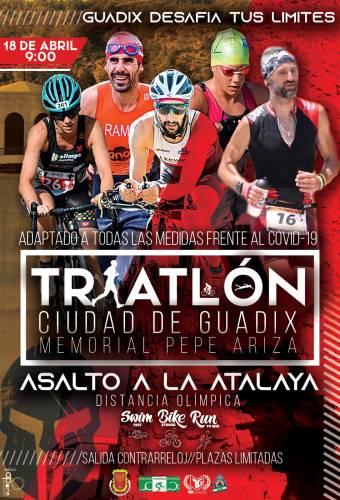 VI Triatlón Ciudad De Guadix Memorial Pepe Ariza