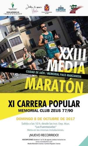 XXIII Media Maratón Ciudad de Jaén Memorial Paco Manzanera