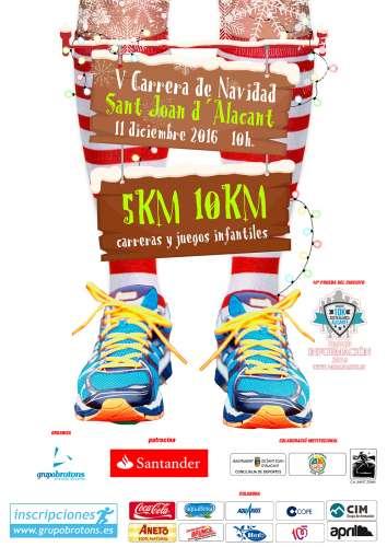 V 5k 10k Carrera de Navidad Sant Joan D´Alacant