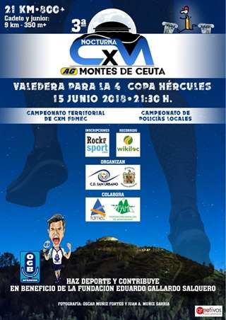 III CxM Nocturna Montes de Ceuta