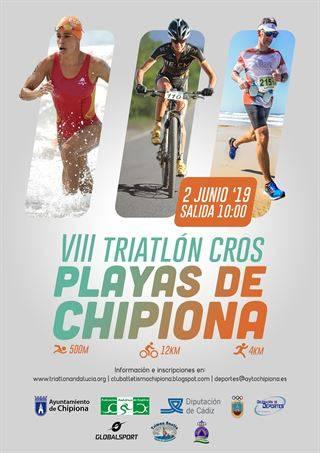 VIII Triatlón Cros Playas de Chipiona