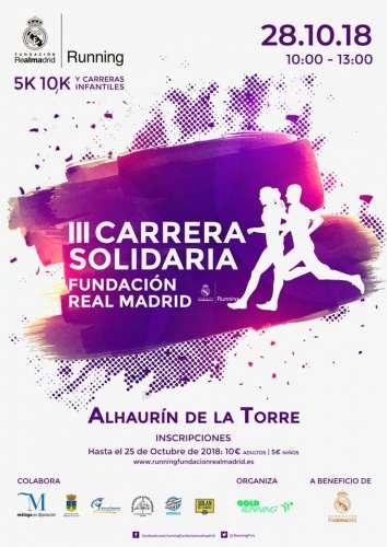III Carrera Solidaria Fundación del Real Madrid