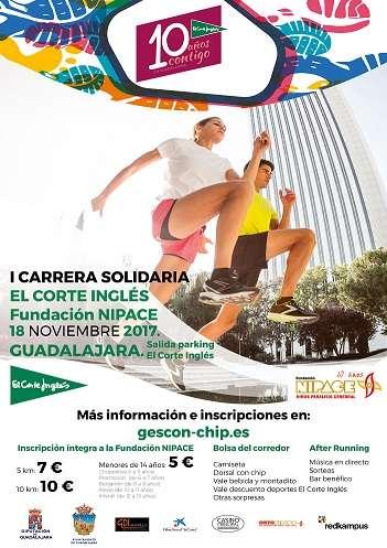 I Carrera Solidaria El Corte Inglés Fundación NIPACE
