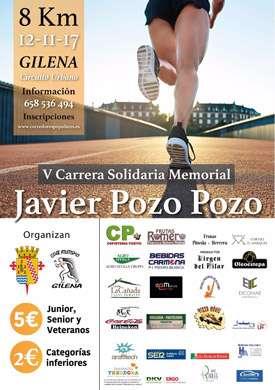 V Carrera Memorial Javier Pozo Pozo