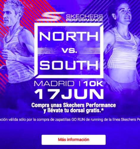 Asesor Buena voluntad Barra oblicua  ▷ Skechers North vs South el domingo 17 de junio 2018 en Madrid, Madrid