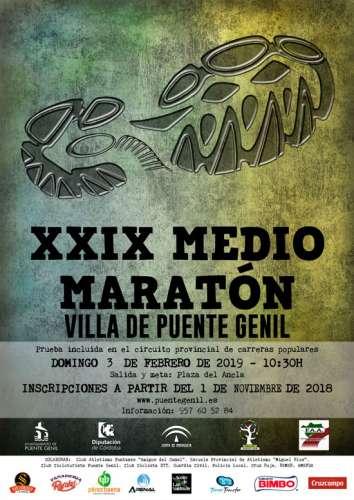 XXIX Medio Maratón Villa de Puente Genil