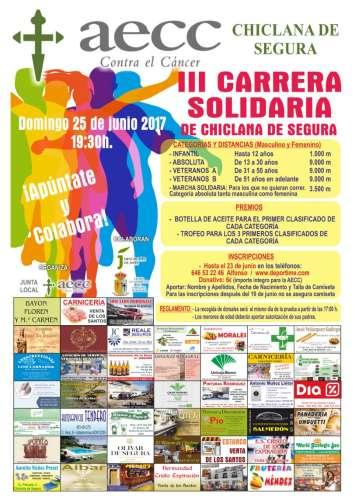 III Carrera  Solidaria  de Chiclana  de  Segura