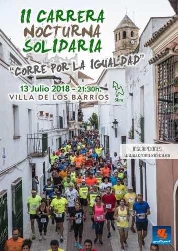 II Carrera nocturna Solidaria Corre por la Igualdad