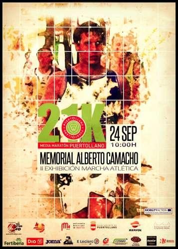 XV Media Maratón Ciudad de Puertollano Memorial Alberto Camacho González