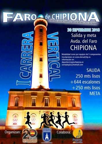 I Carrera Vertical Faro de Chipiona