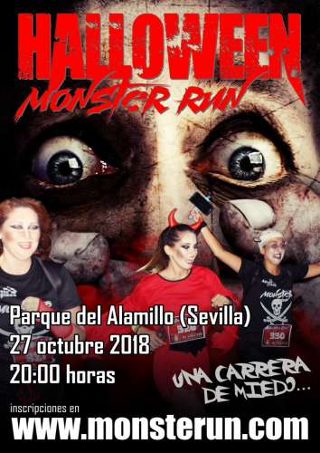 Carrera Popular Halloween Monster Run Sevilla 2018