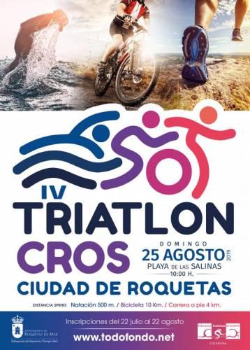 IV Triatlón Cros Ciudad de Roquetas