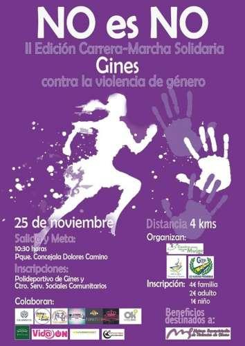 II Carrera-marcha Solidaria Contra la Violencia de Género