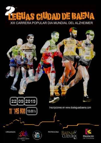 2 Leguas Ciudad de Baena XIII Carrera Popular día Mundial del Alzheimer