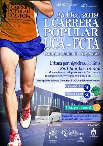 I Carrera Popular UCA - FCTA Campus de Algeciras