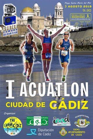Carrera I Acuatlón Ciudad de Cádiz