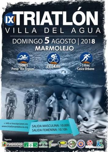 IX Triatlón Villa Del Agua