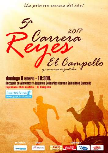 V Carrera de Reyes de El Campello