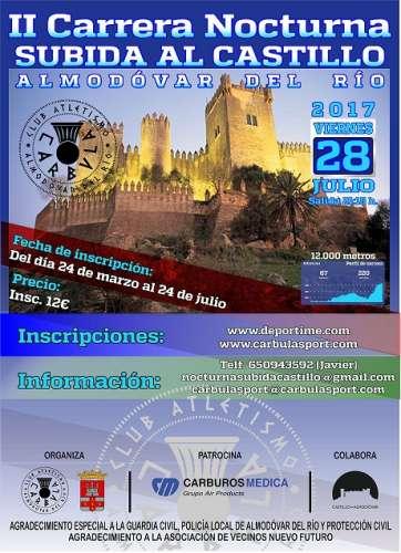 II Carrera Nocturna Subida al Castillo