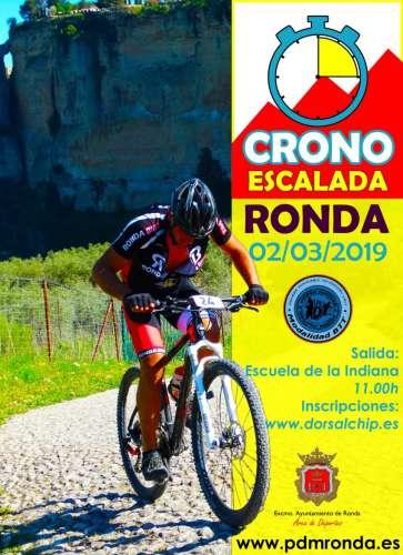 II Cronoescalada Ciudad de Ronda